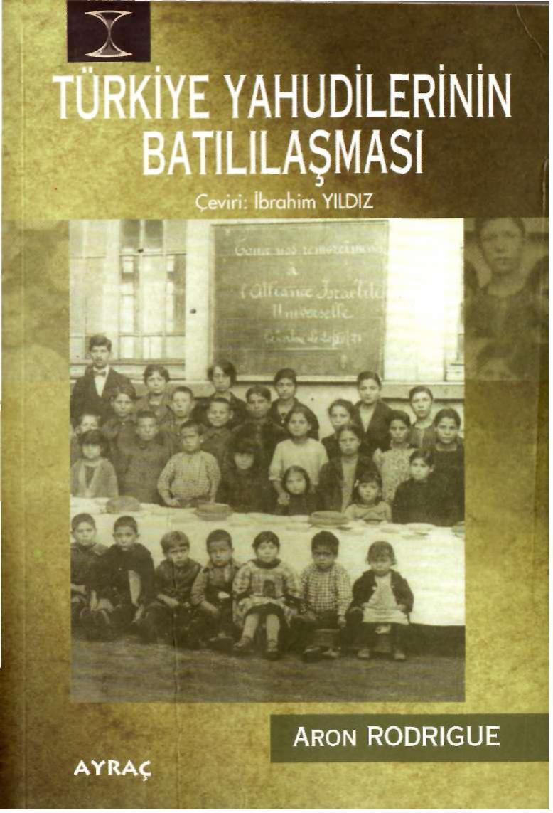 Türkiye'de Yahudilerin Batılılaşması Kitap Kapağı