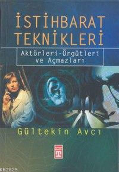 İstihbarat Teknikleri Kitap Kapağı