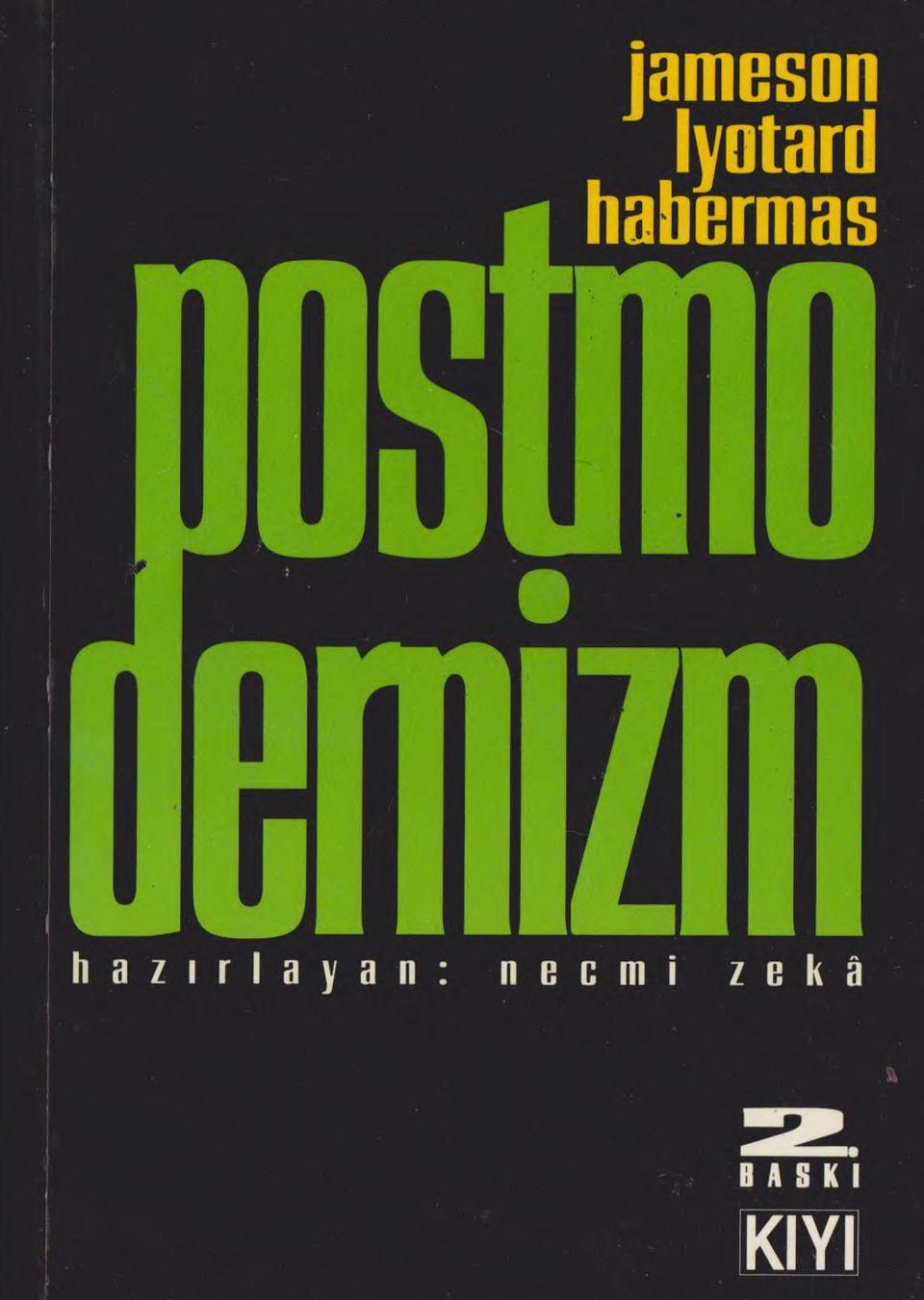 Postmodernizm Kitap Kapağı
