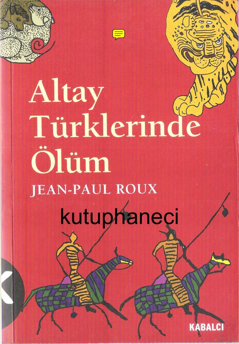 Altay Türklerinde Ölüm Kitap Kapağı