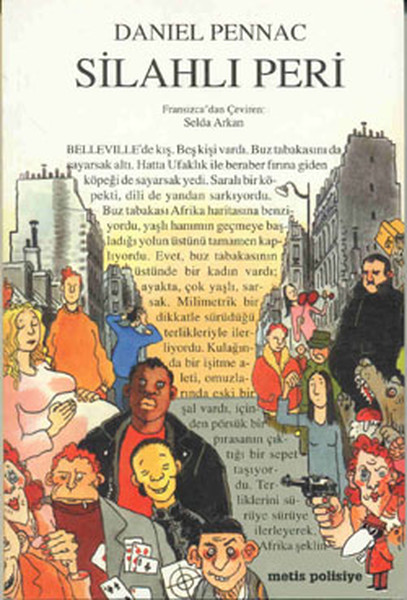 Silahlı Peri Kitap Kapağı