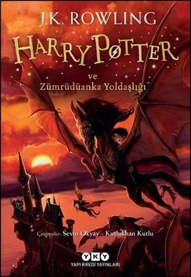 Harry Potter ve Zümrüdüanka Yoldaşlığı Kitap Kapağı