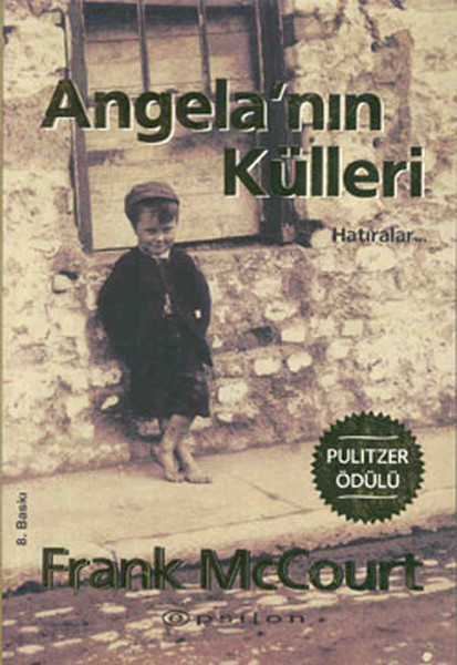 Angela'nın Külleri: Hatıralar Kitap Kapağı