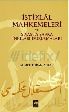 İstiklal Mahkemeleri Kitap Kapağı