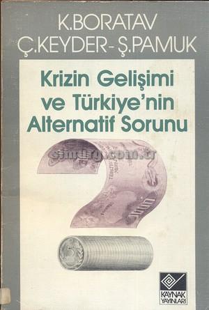 Kriz Gelir Dağılımı ve Türkiyenin Alternatif Sorunu Kitap Kapağı