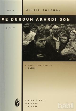 Ve Durgun Akardı Don 3. Cilt Kitap Kapağı
