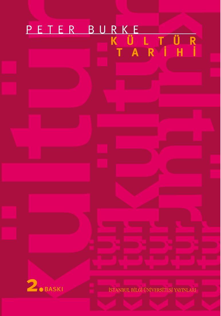 Kültür Tarihi Kitap Kapağı