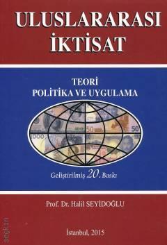 Uluslararası İktisat Teorisi Kitap Kapağı
