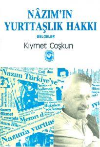 Nazım'ın Yurttaşlık Hakkı Kitap Kapağı