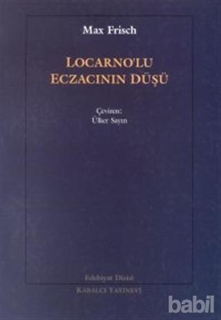 Locarno'lu Eczacının Düşü Kitap Kapağı