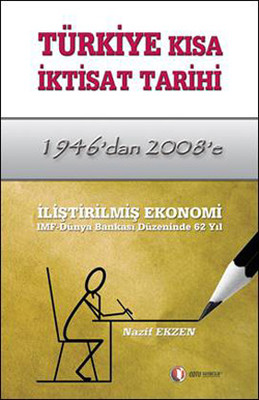 Türkiye Kısa iktisat Tarihi: 1946'dan 2008'e Kitap Kapağı