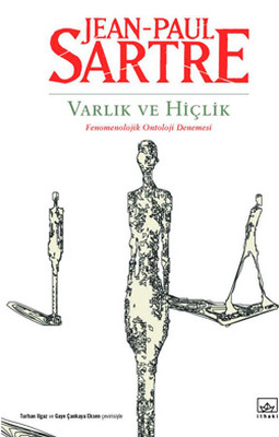 Varlık ve Hiçlik: Fenomenolojik Ontoloji Denemesi Kitap Kapağı