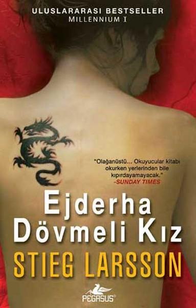 Ejderha Dövmeli Kız Kitap Kapağı