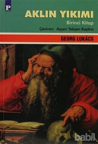 Aklın Yıkımı 1. Cilt Kitap Kapağı