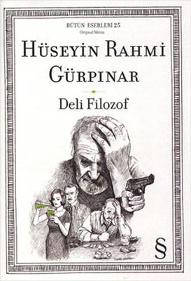 Deli Filozof Kitap Kapağı