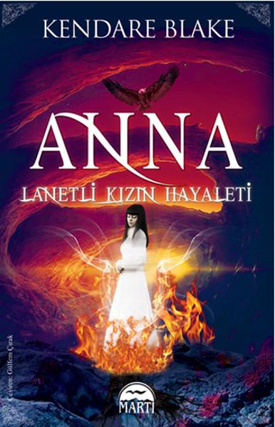 Anna: Lanetli Kızın Hayaleti Kitap Kapağı