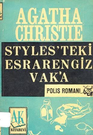 Styles'teki Esrarengiz Vaka Kitap Kapağı
