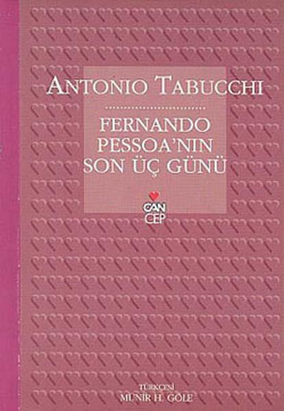 Fernando Pessoa'nın Son Üç Günü Kitap Kapağı