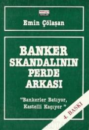 Banker Skandalının Perde Arkası Kitap Kapağı
