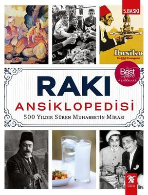 Rakı Ansiklopedisi Kitap Kapağı