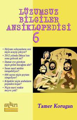 Lüzumsuz Bilgiler Ansiklopedisi 6 Kitap Kapağı