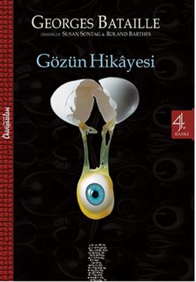 Gözün Hikayesi Kitap Kapağı