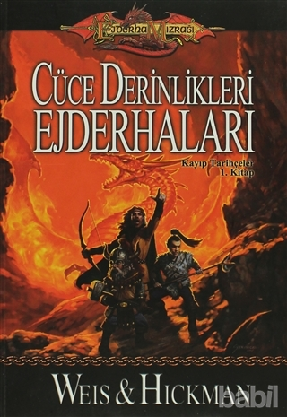 Cüce Derinlikleri Ejderhaları Kitap Kapağı