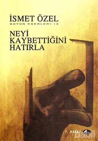 Neyi Kaybettiğini Hatırla Kitap Kapağı