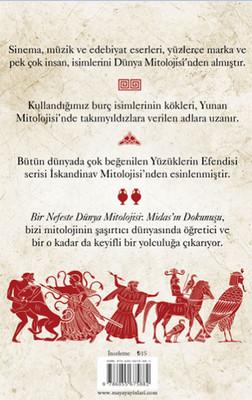 Bir Nefeste Dünya Mitolojisi: Midas Dokunuşu Kitap Kapağı