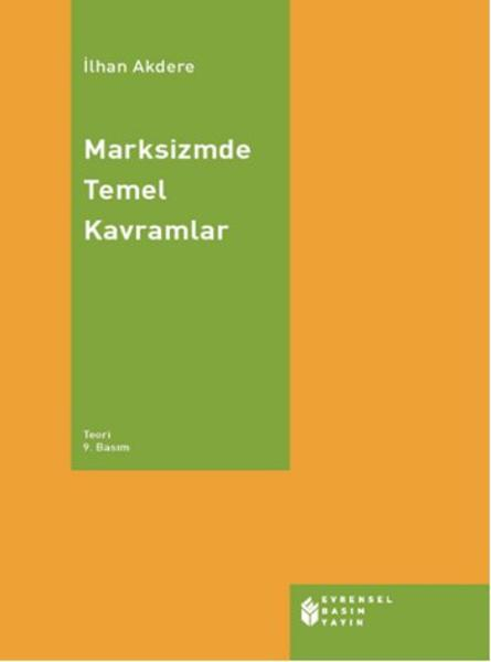 Marksizmde Temel Kavramlar Kitap Kapağı