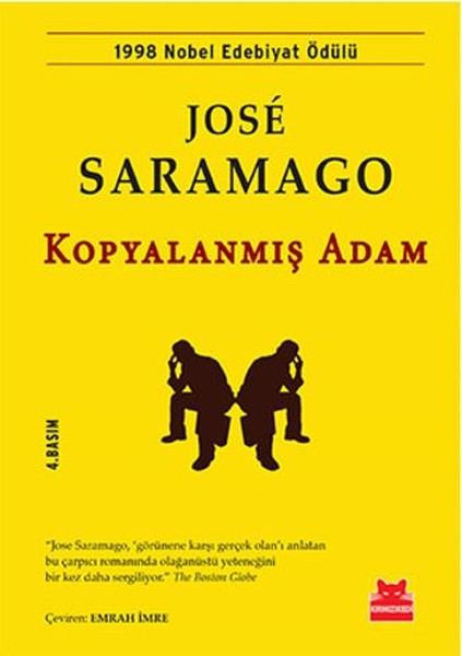 Kopyalanmış Adam Kitap Kapağı