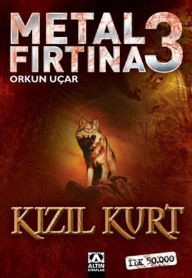 Metal Fırtına 3: Kızıl Kurt Kitap Kapağı