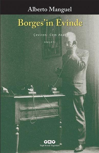 Borges'in Evinde Kitap Kapağı