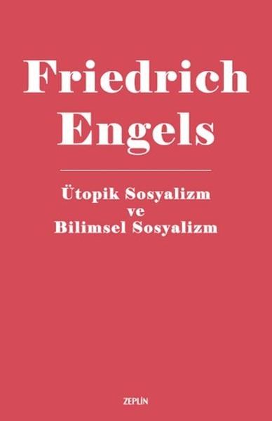 Ütopik Sosyalizm ve Bilimsel Sosyalizm Kitap Kapağı