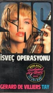 İsveç Operasyonu Kitap Kapağı