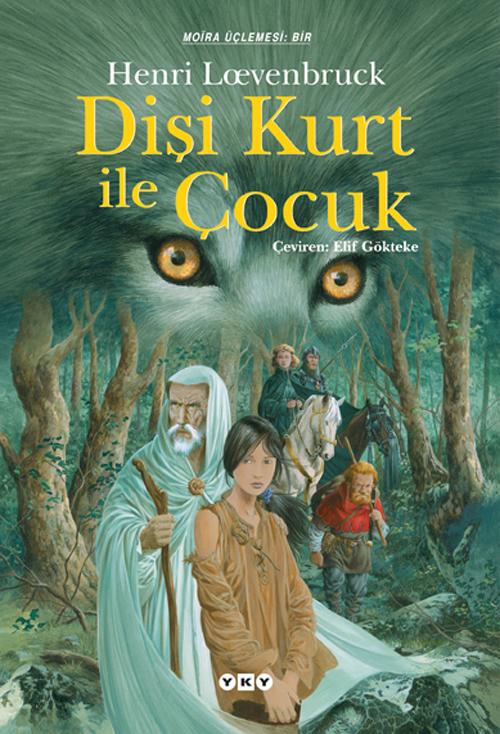 Dişi Kurt ile Çocuk Kitap Kapağı