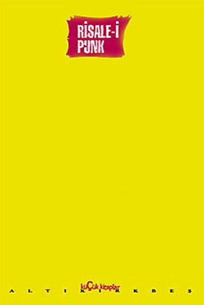 Risale-i Punk Kitap Kapağı
