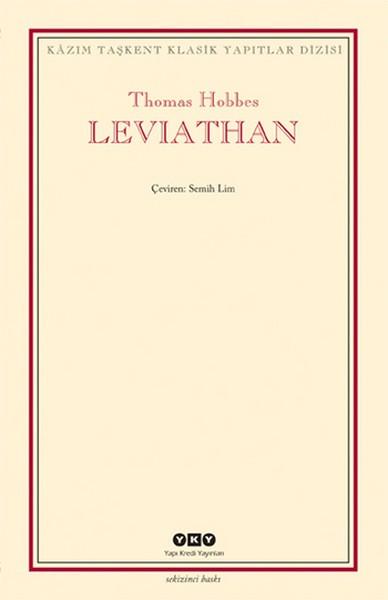 Leviathan - Bir Din ve Dünya Devletinin İçeriği, Biçimi ve Kudreti Kitap Kapağı