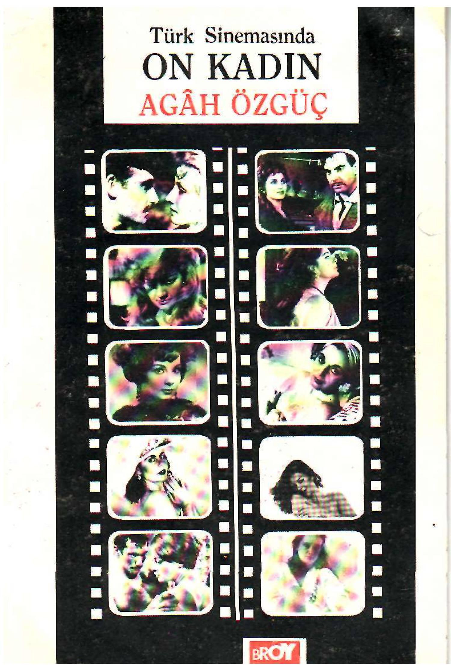 Türk Sinemasında 10 Kadın Kitap Kapağı