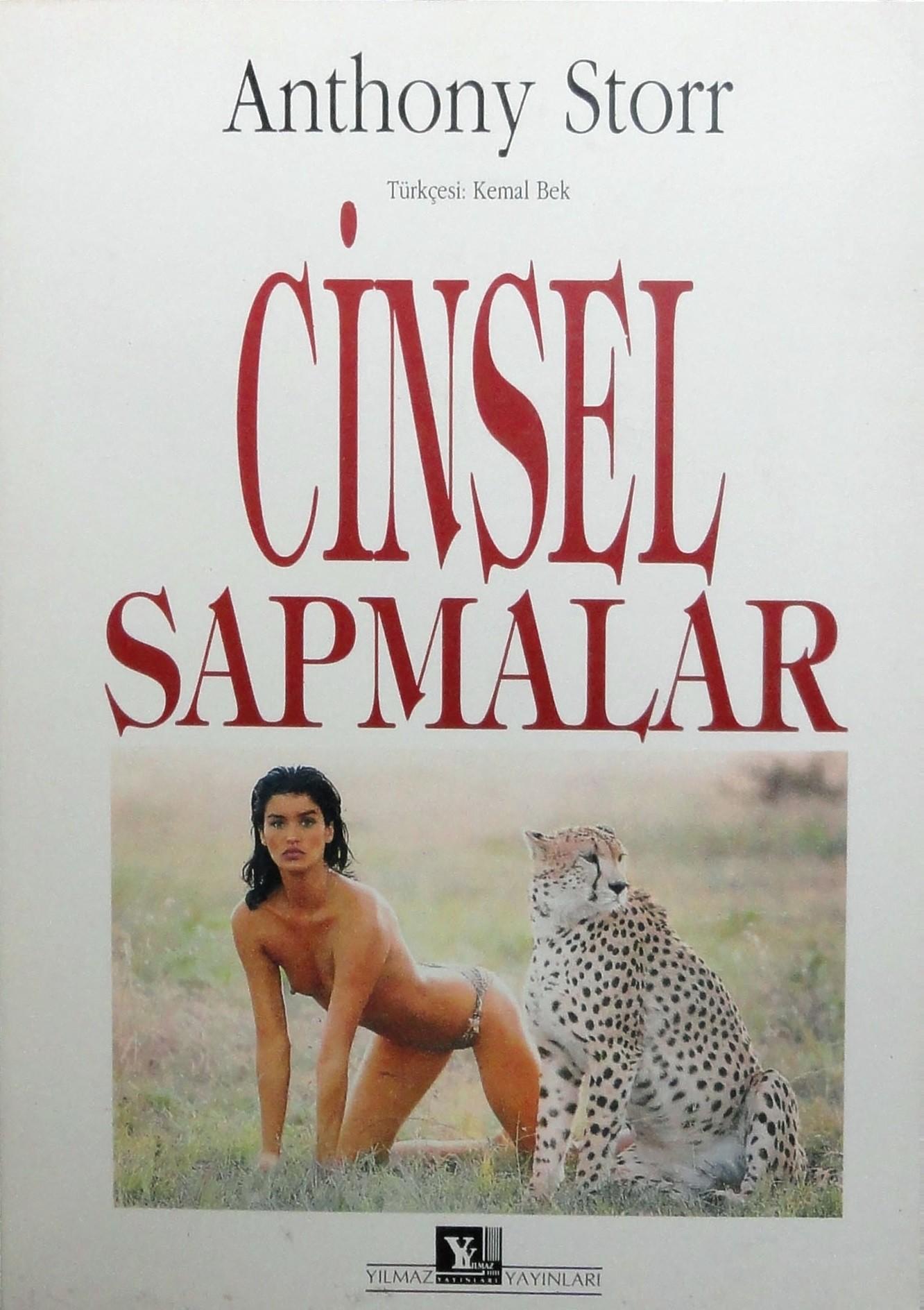Cinsel Sapmalar Kitap Kapağı