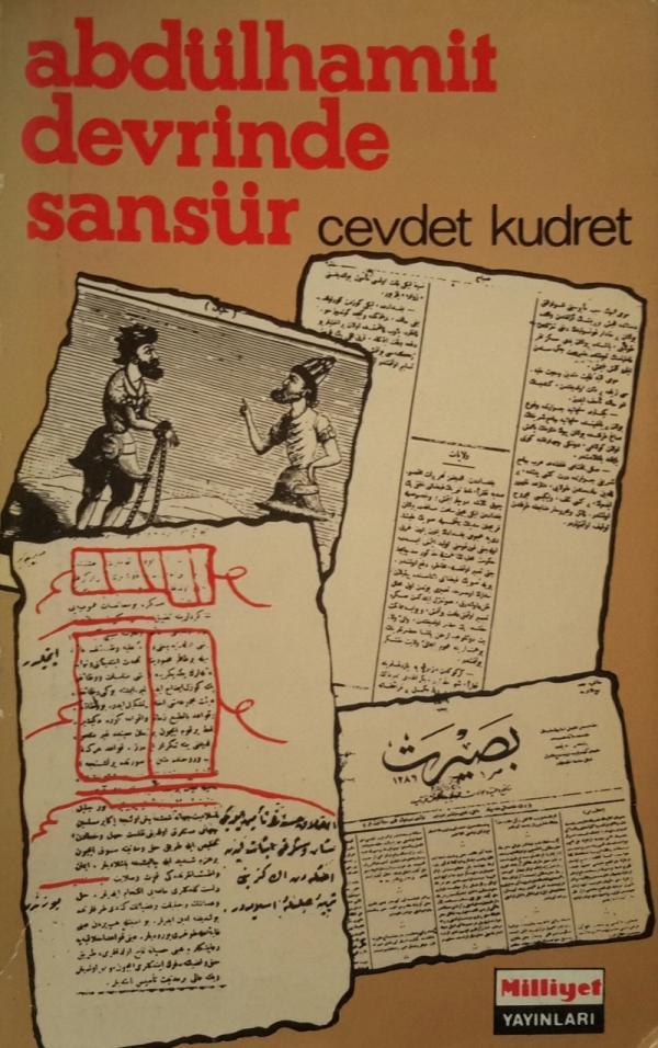 Abdülhamit Devrinde Sansür Kitap Kapağı