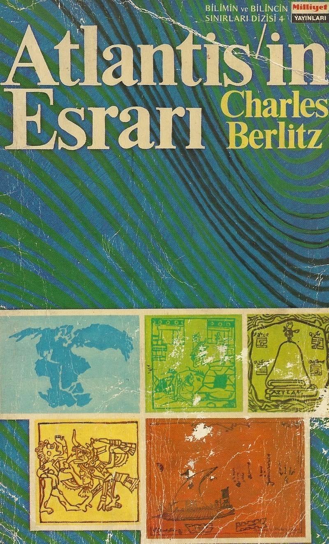Atlantis'in Esrarı Kitap Kapağı