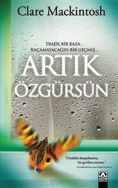 Artık Özgürsün Kitap Kapağı