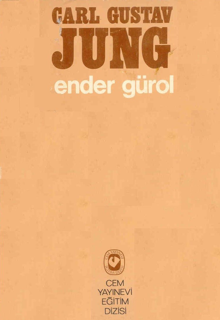 Carl Gustav Jung Kitap Kapağı