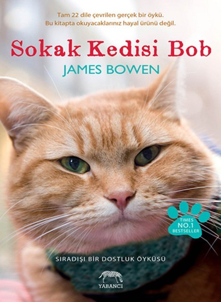 Sokak Kedisi Bob: Sıradışı Bir Dostluk Öyküsü Kitap Kapağı