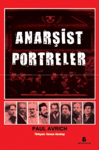 Anarşist Portreler 2 Kitap Kapağı