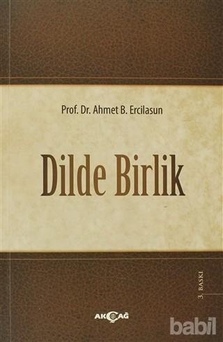 Dilde Birlik Kitap Kapağı