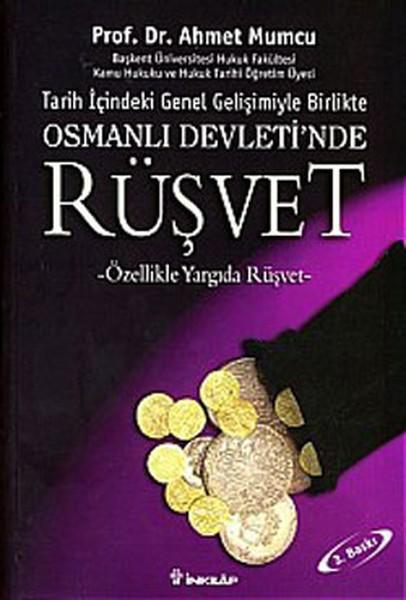 Osmanlı Devletinde Rüşvet Kitap Kapağı