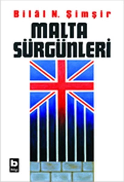 Malta Sürgünleri Kitap Kapağı