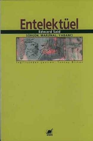 Entelektüel: Sürgün, Marjinal, Yabancı Kitap Kapağı